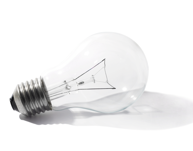 picture of a lightbulb - a culture of innovation deeply anchored in all levels secures the competitiveness of our company also in future