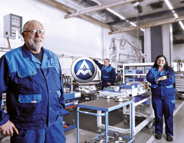 Employees at their work for AERZEN - communication, team spirit, trust, commitment and diversity of opinions are fundamental cornerstones of our company