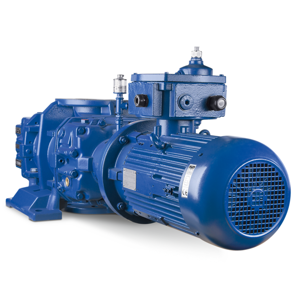 High vacuum blower HV series front view