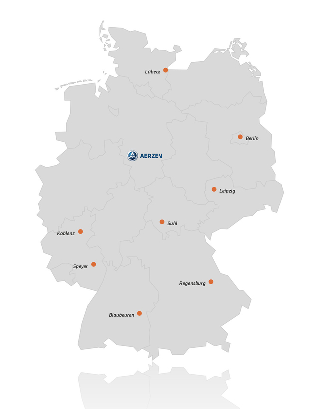 Aerzen Service Network Perfectly Connected Throughout Germany