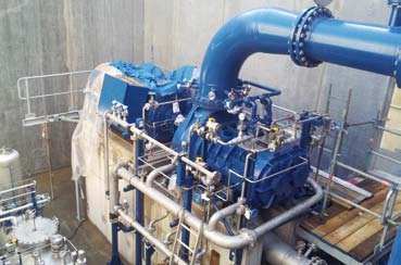 BASF Antwerp uses AERZEN Compressors for the extraction of butadiene