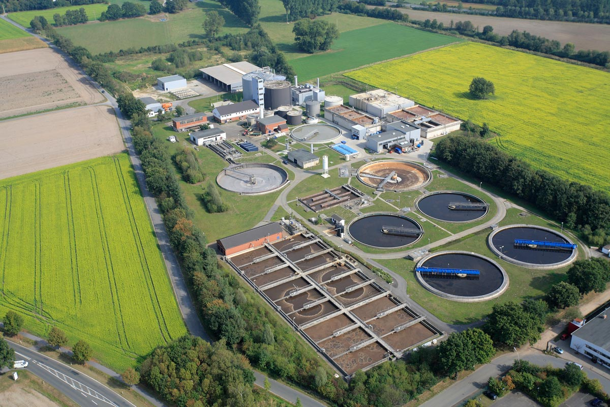 waste water treatment Industrial wastewater that discharges to domestic wastewater treatment facilities, however, is regulated under the industrial pretreatment component of the department's domestic wastewater program.
