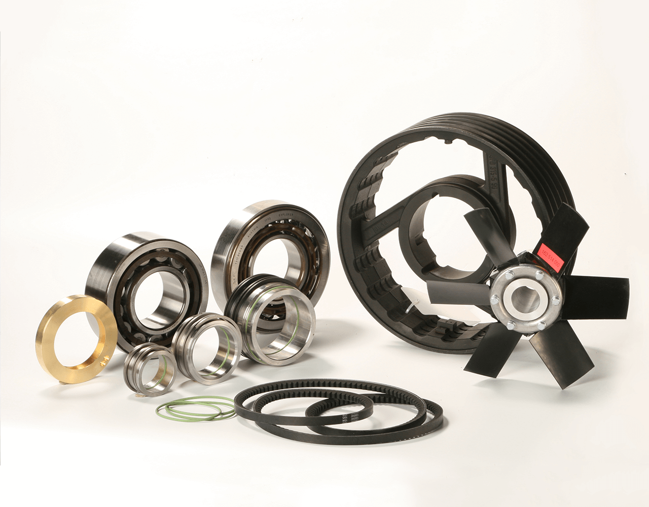 Some AERZEN spare parts at a glance