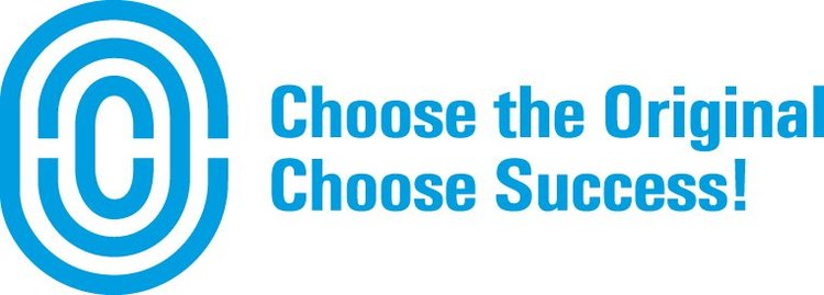 "Kuva, jossa lukee ""Choose the Original - Choose Success!"""
