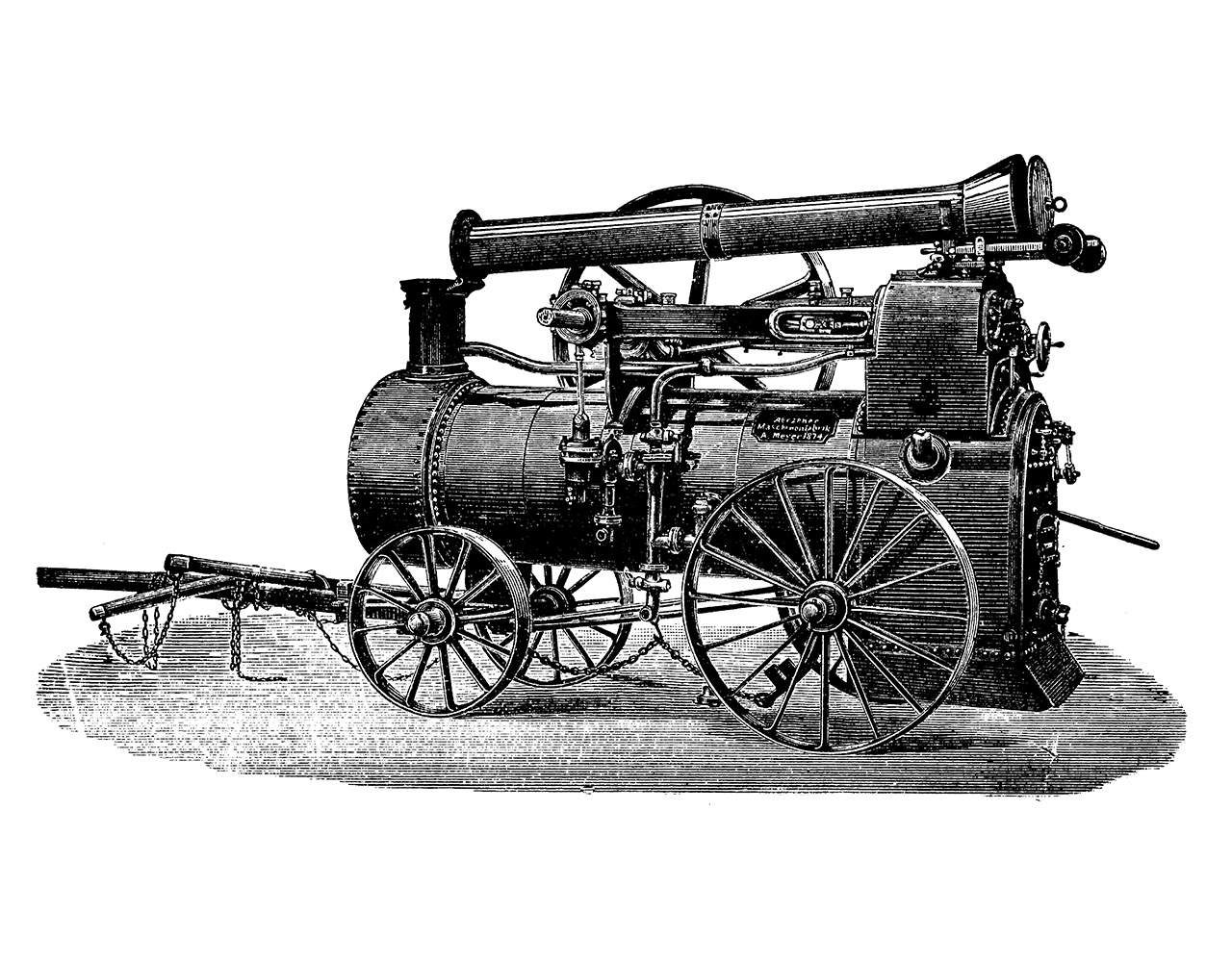 One of the first AERZEN units