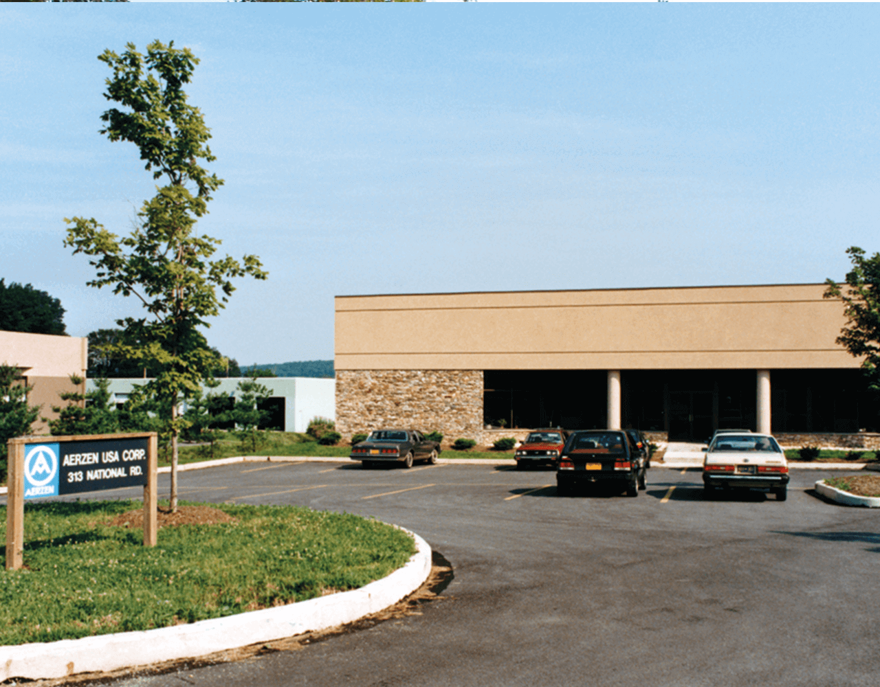 Picture of the building of the subsidiaries Aerzen USA Corporation