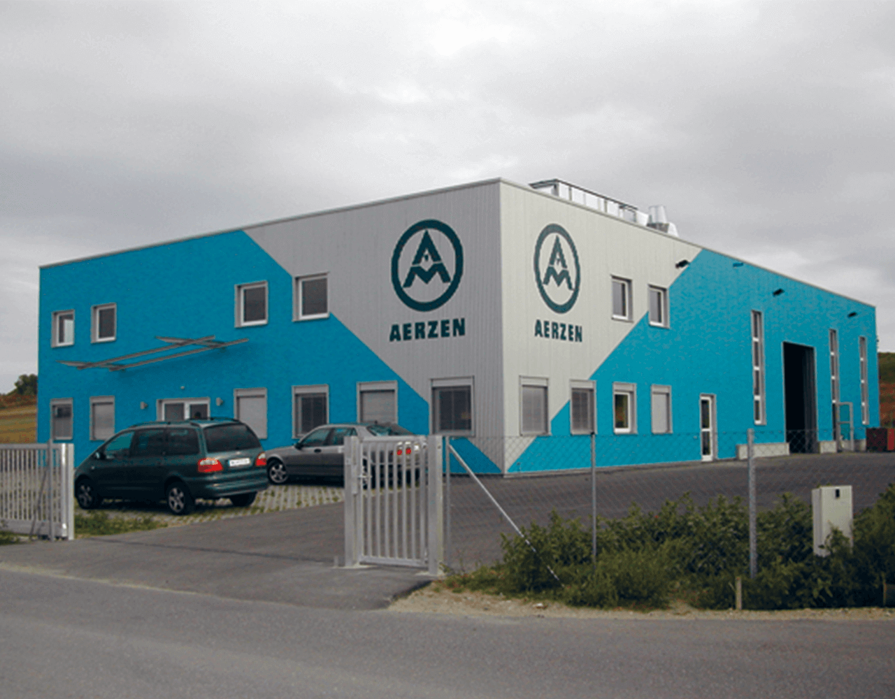 Picture of the building of the subsidiary Aerzen Austria Handelsgesellschaft mbH.