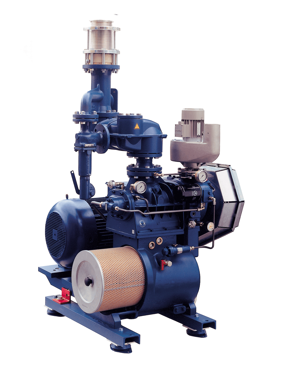 Picture of the new screw compressor series DELTA SCREW