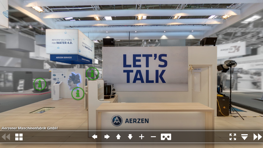 Stand at the IFAT 2018 from AERZEN