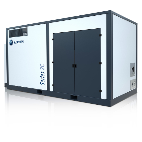 Oil-free multi-stage screw compressor units series 2C